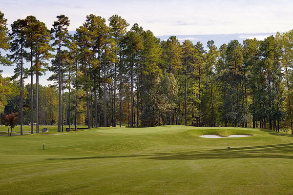 The approach at number nine, The Club at Stoney Creek
