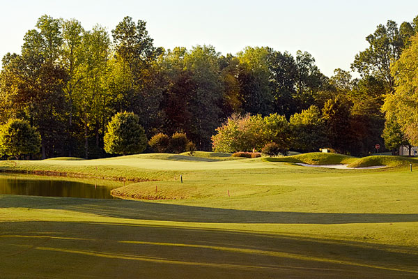 The approach at number eighteen, The Club at Stoney Creek